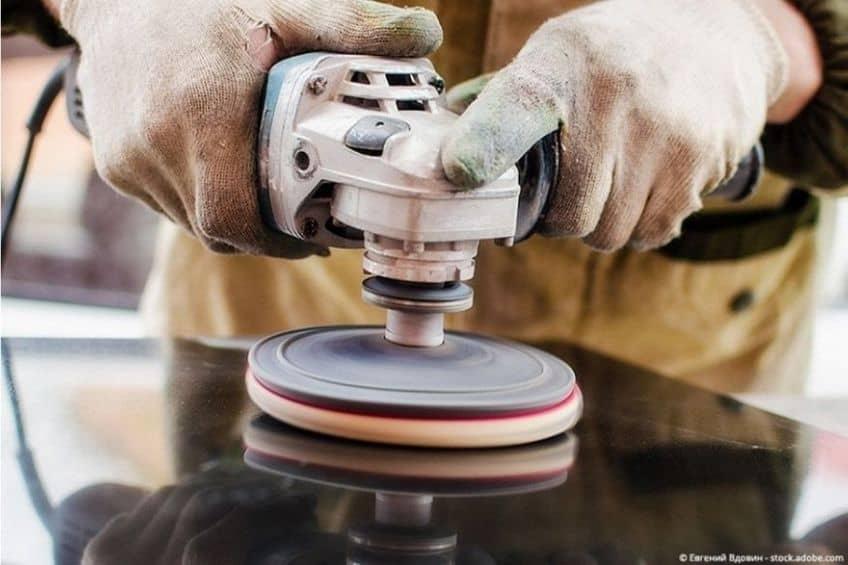 epoxy resin sanding