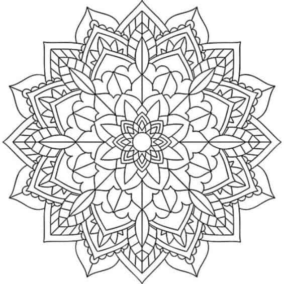 mandala coloring pages 2