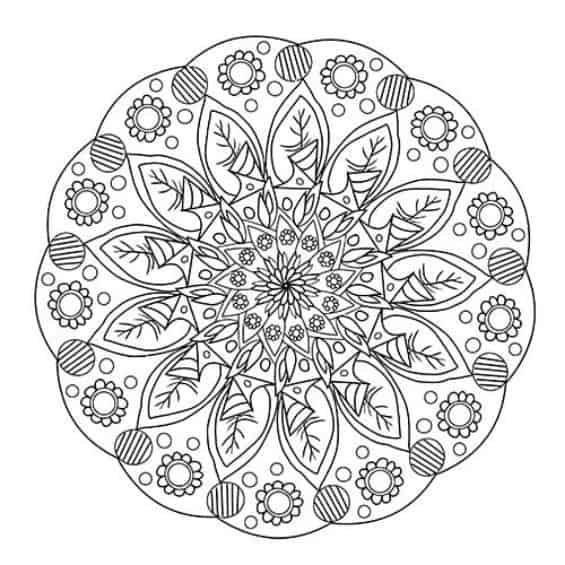mandalas to color 5
