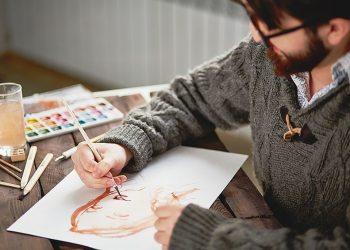 painting skin tones