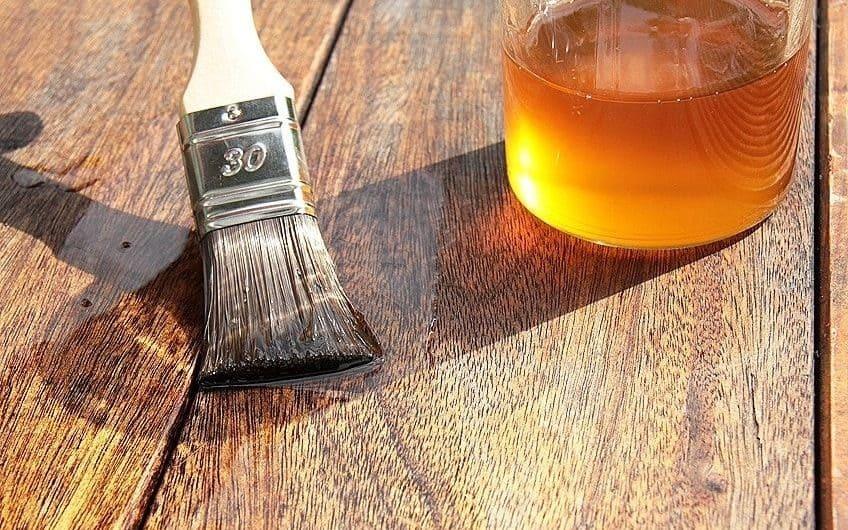 wood finishing oil