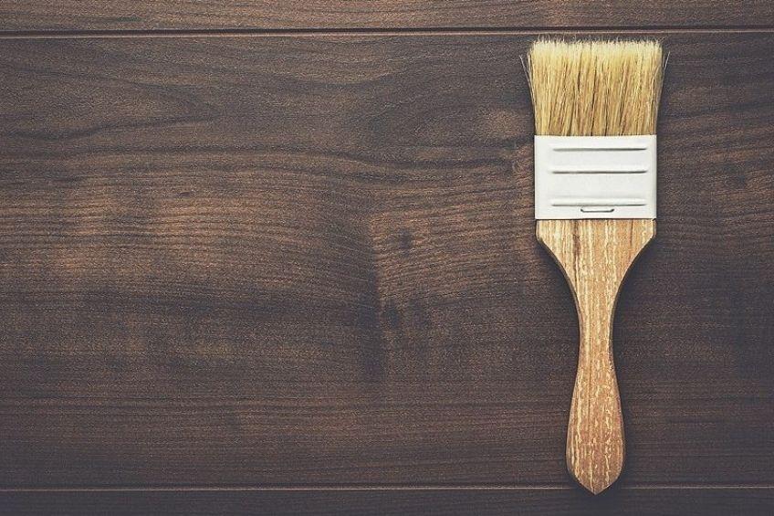 wood stain brush