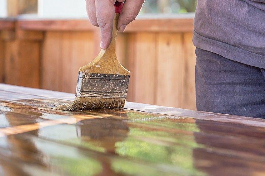 DIY wood plank countertops