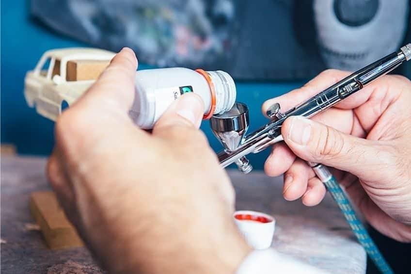 airbrush miniatures