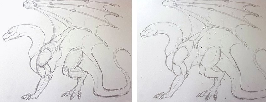 how to draw a dragon 3
