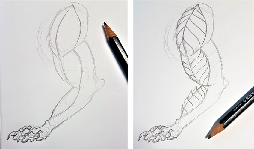 how to draw a dragons 4