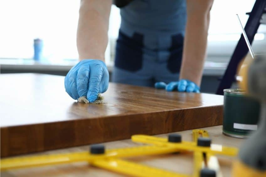 how to finish butcher block
