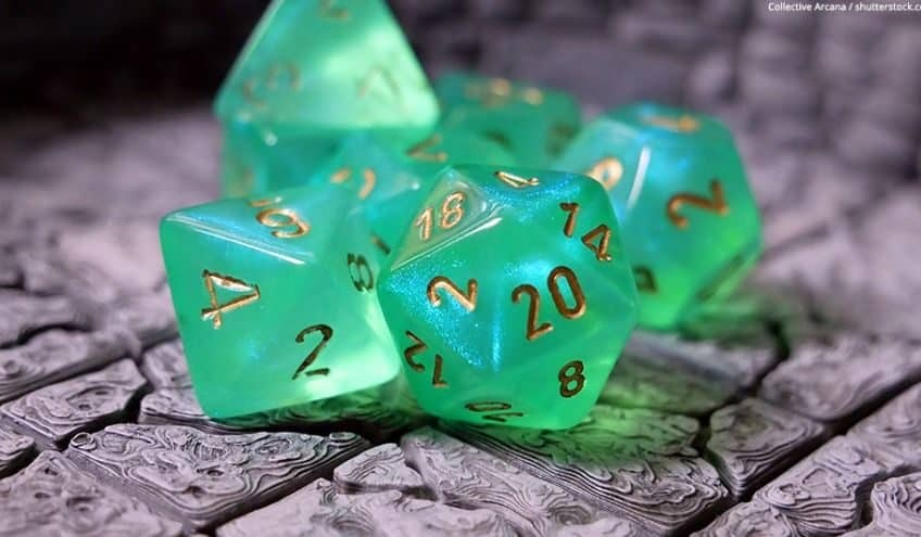 how to make resin dice