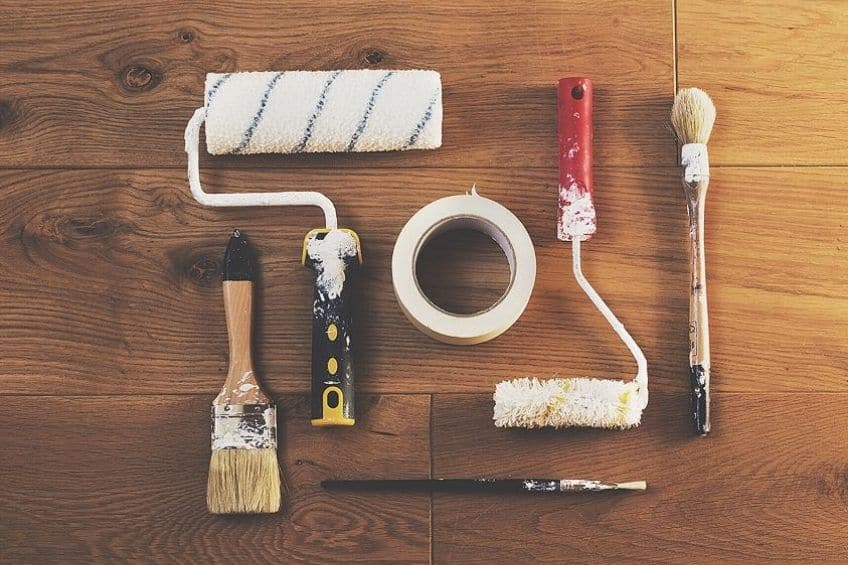how to prepare for wood painting