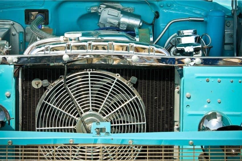 radiator crack repair