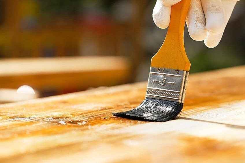 waterproof wood finish