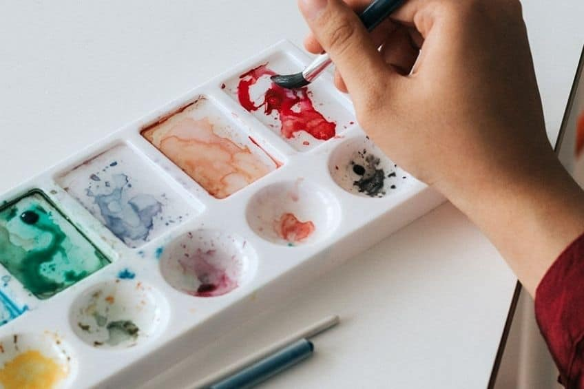 color wheel for painting