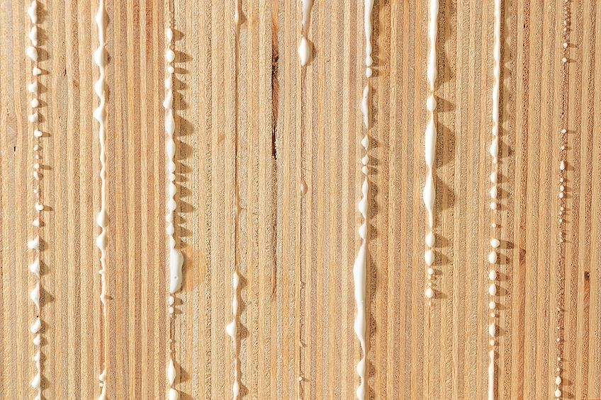 how to remove dried wood glue