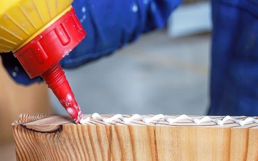 remove wood glue
