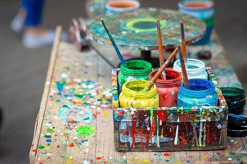 removing acrylic paint
