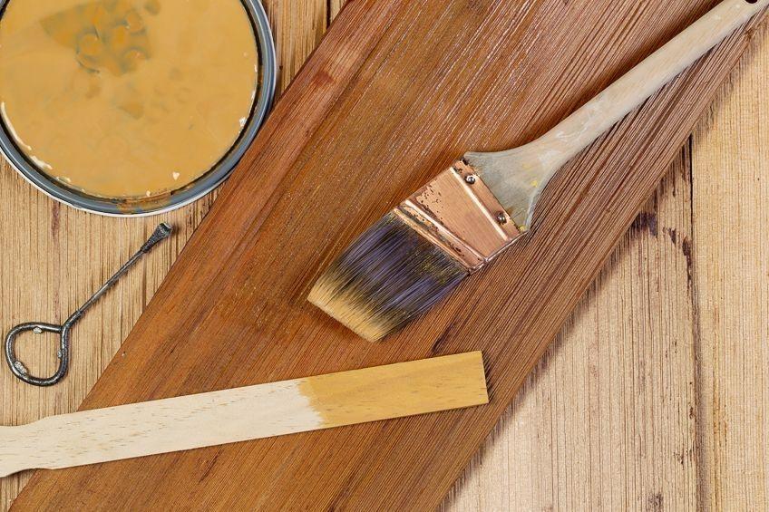 staining cedar decks