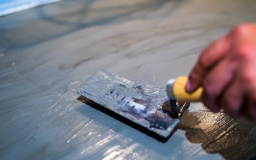 epoxy cement floor