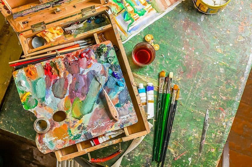 oil painting kit for beginners