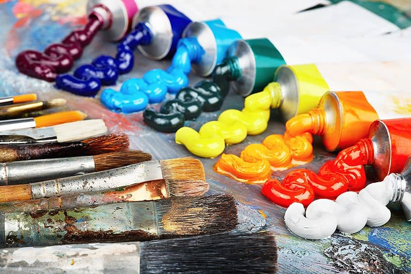 oil painting tools