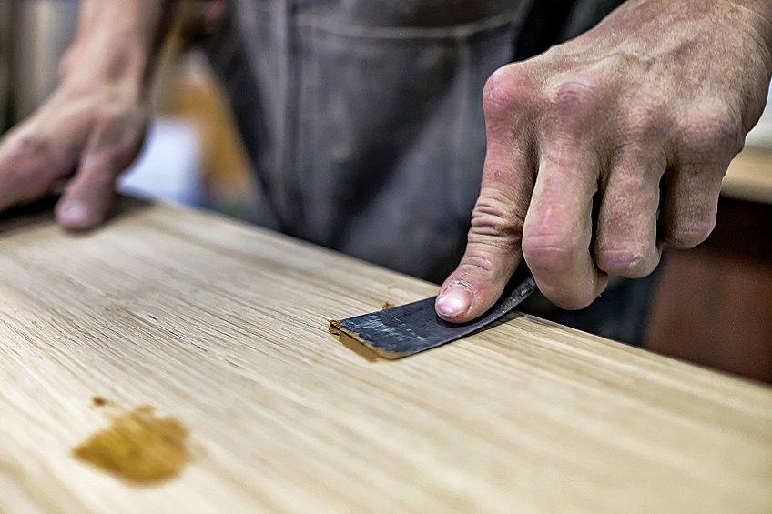 wood epoxy resin filler