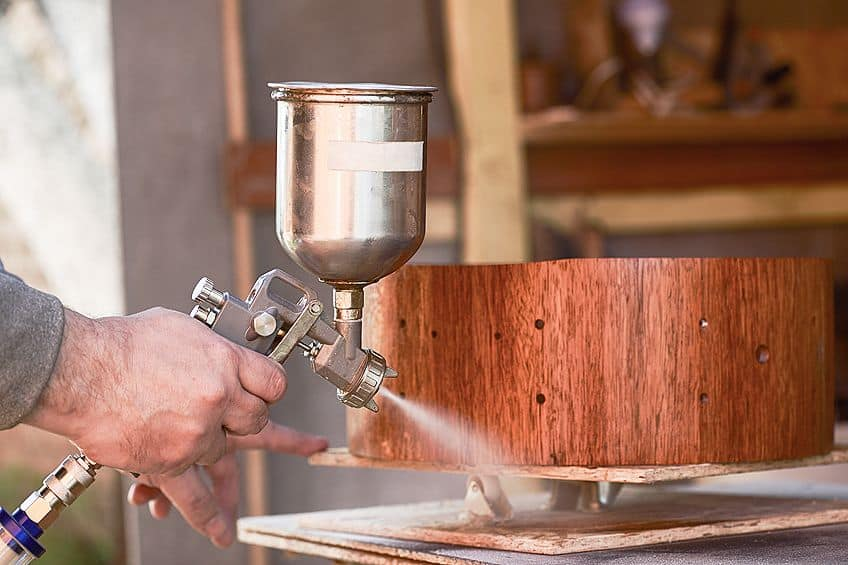 wood lacquer spray
