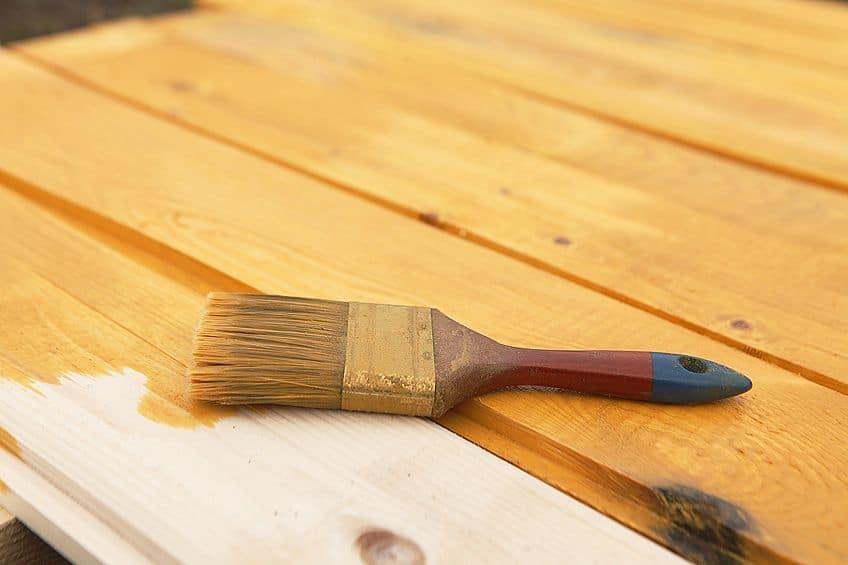 wooden deck sealing