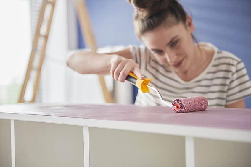 Applying Wood Paint