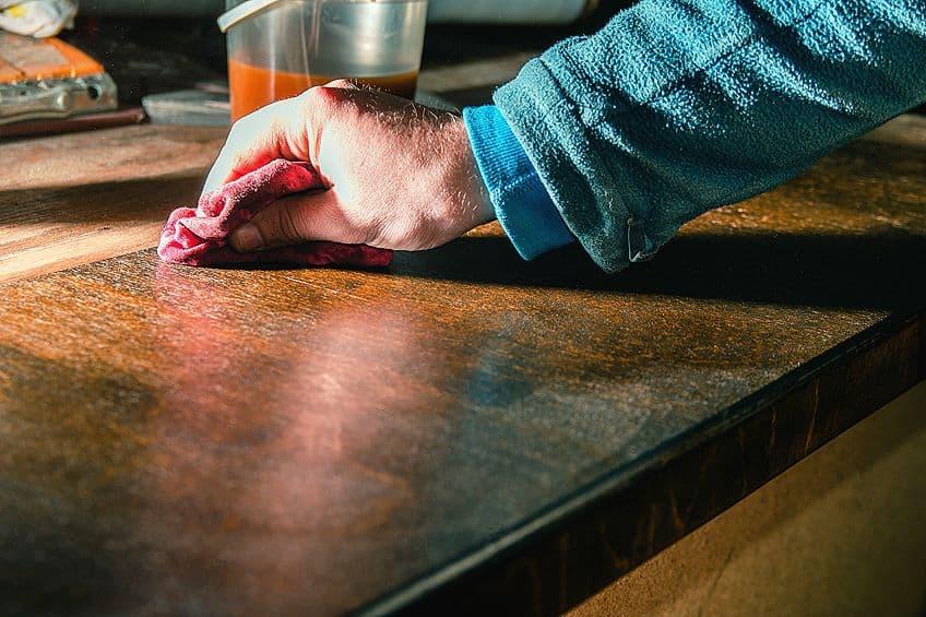 Applying a Food-Safe Wood Finish