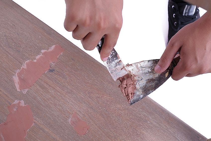 Applying a Wood Repair Product