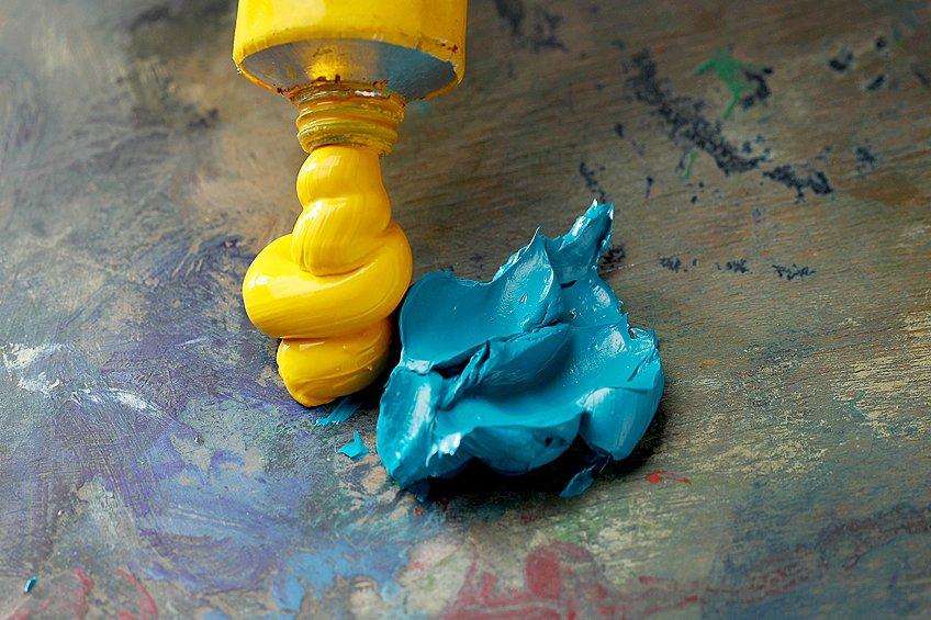 Artist Grade Oil Paint Colors