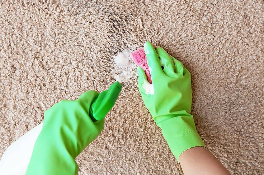 How to Remove Acrylic Paint From Carpets