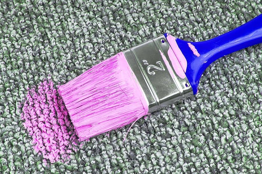 Method for How to Remove Acrylic Paint From Carpet