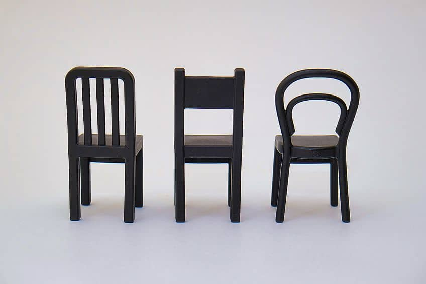 Paint on Plastic Chairs
