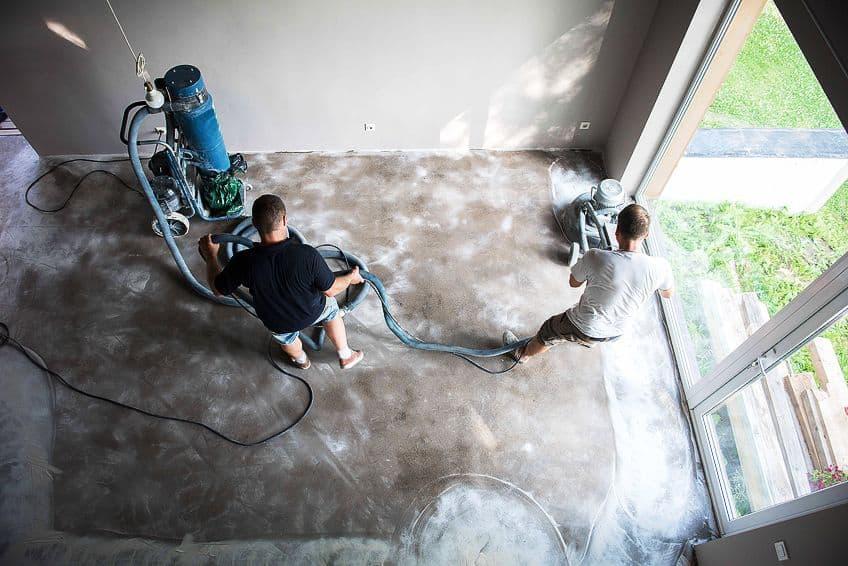 Preparation for Polyurea Floor Coating