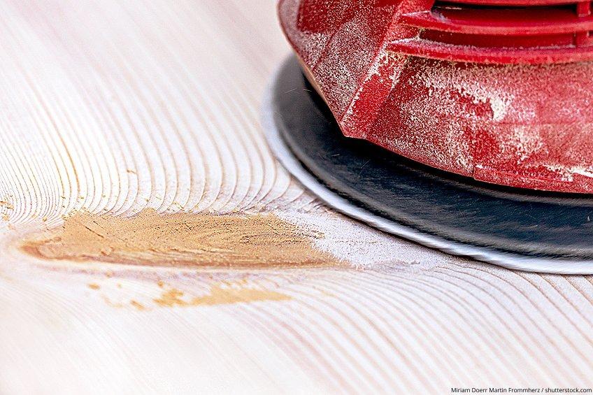Sandable Wood Repair Product