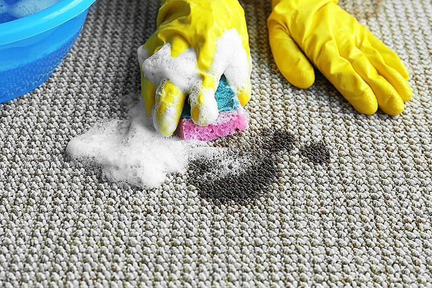 The Trick to Remove Acrylic Paint From Carpet