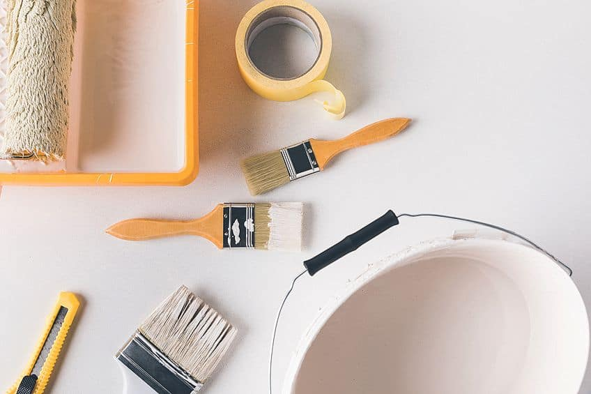Tools for Painting Plastic