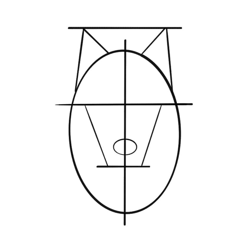 wolf drawing step 05