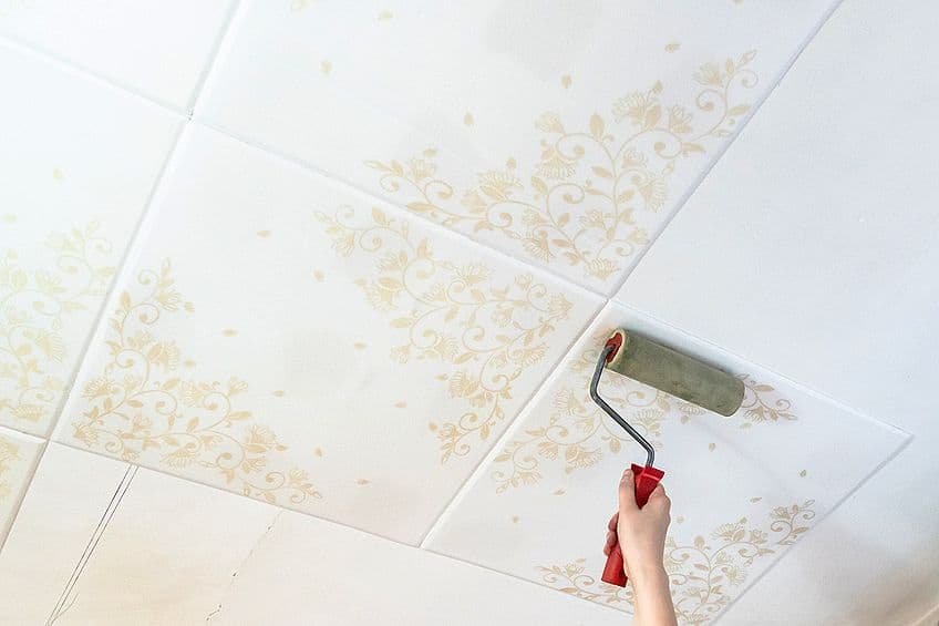 Can You Paint Styrofoam Ceilings