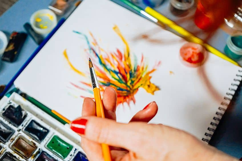 Can You Use Acrylic Paint on Paper