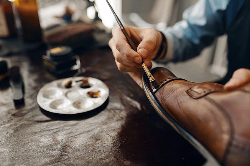 Leather Shoes Paint