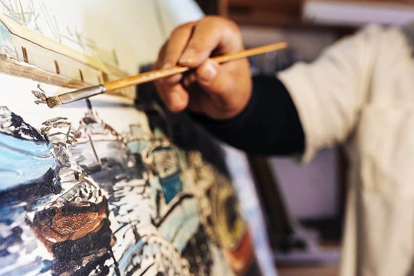 Oil Art Techniques