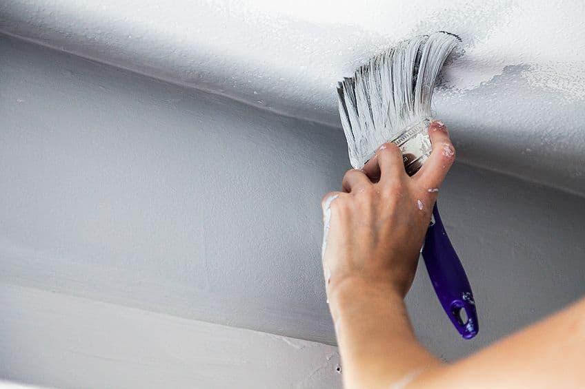 Painting Styrofoam Ceiling