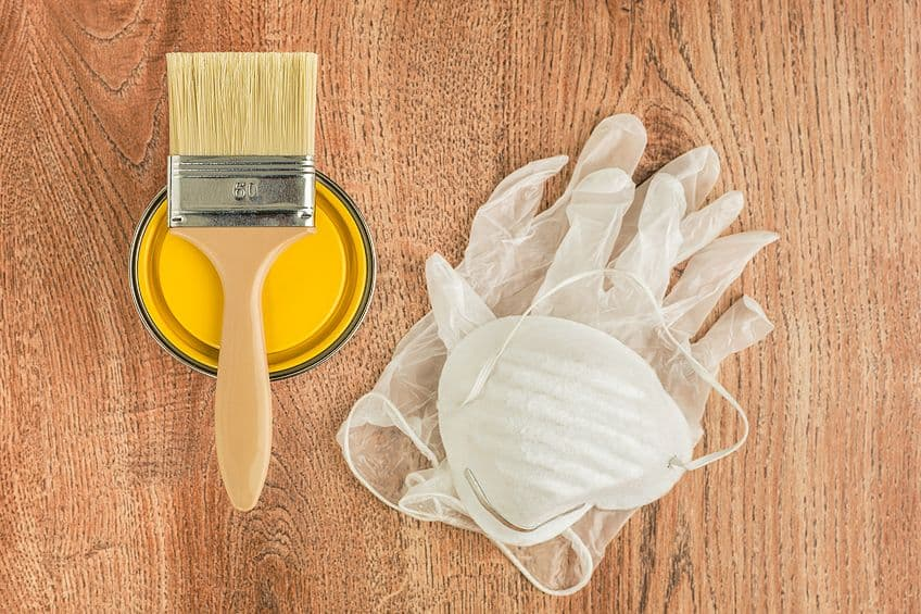 Preventing Wood Stain on Skin