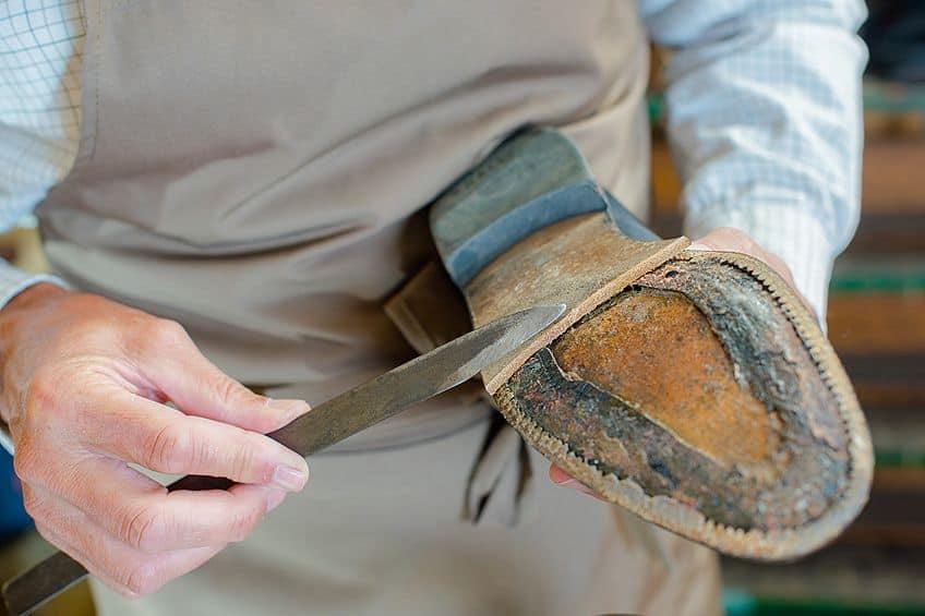 Repairing Shoe