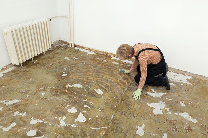 Method for Removing Carpet Glue