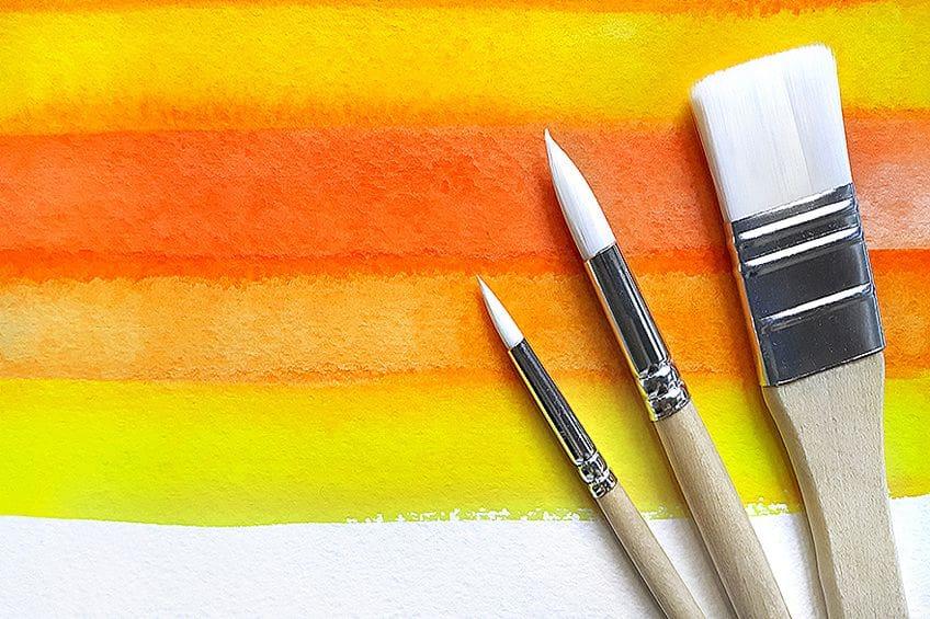 Mixing Shades of Orange