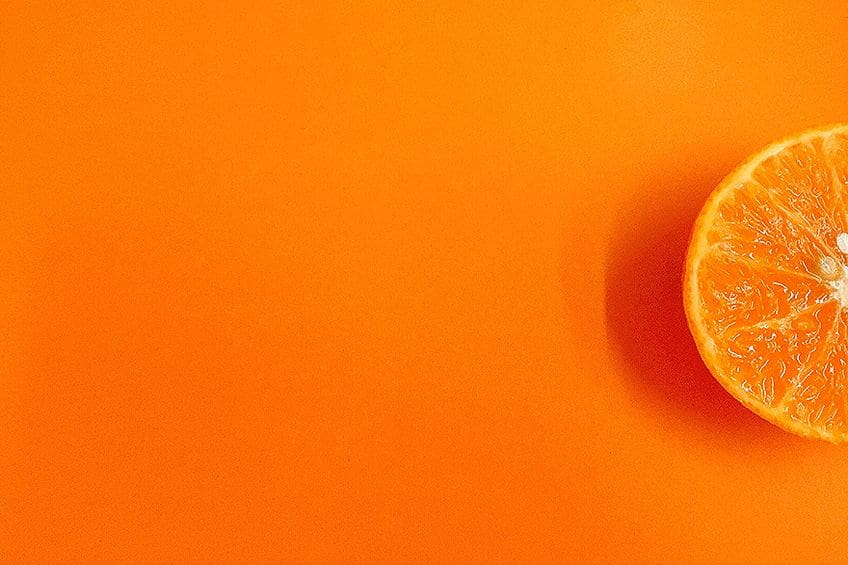 Painting With Shades of Orange