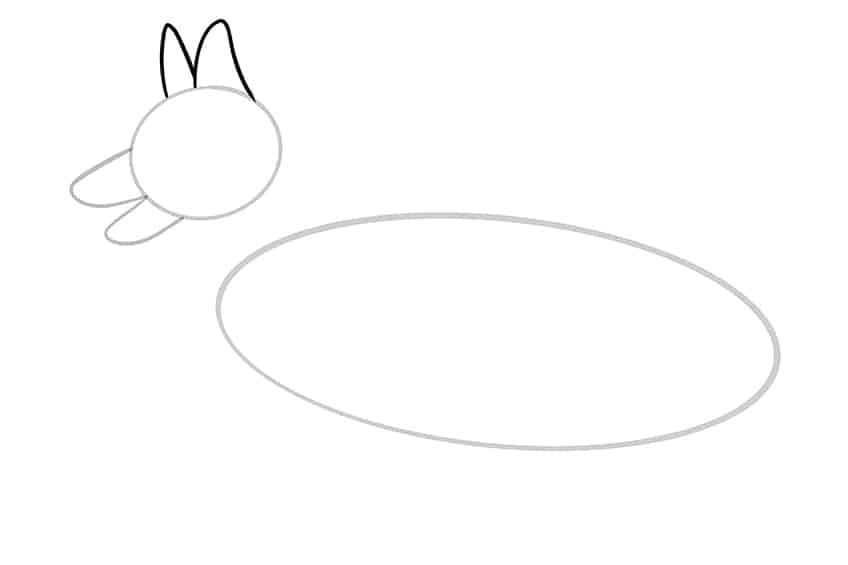 Step 04 of German Shepherd Drawing